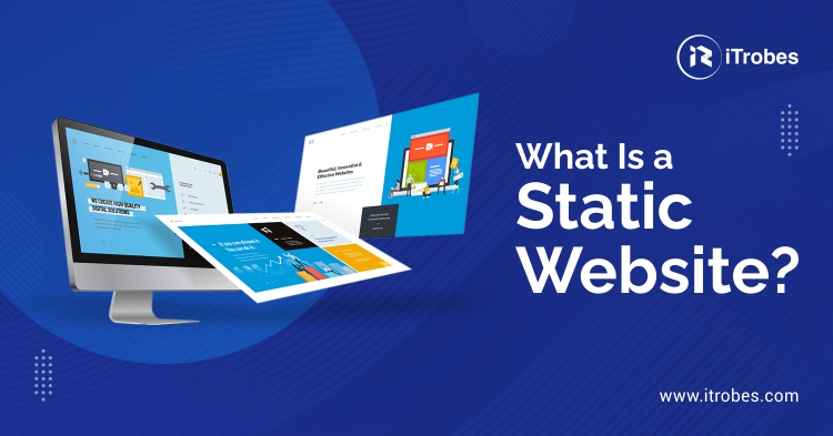 What is a static website